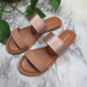 Rampage Sandals (Rose Gold Strap)